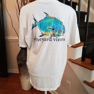 Vineyard Vines Short Sleeve White Tshirt